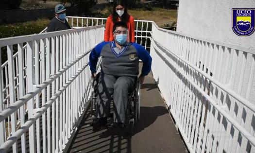 silla de ruedas sueño Jacob Licancura
